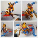 X-MEN: Wolverine vs Sabertooth
