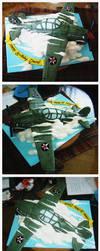 P-40 Tomahawk cake by Cakerific