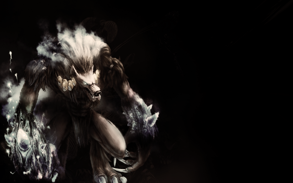 beast wolf wallpaper art - photo #27