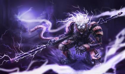 Cyborg Wukong : Escape from Zaun