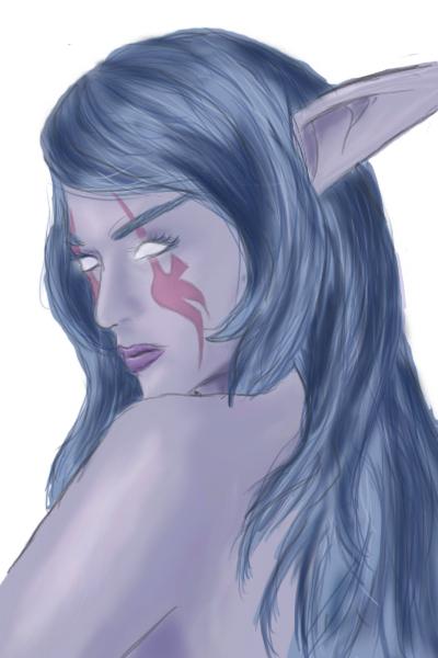 Meliai Greyfeather by twilightbitch