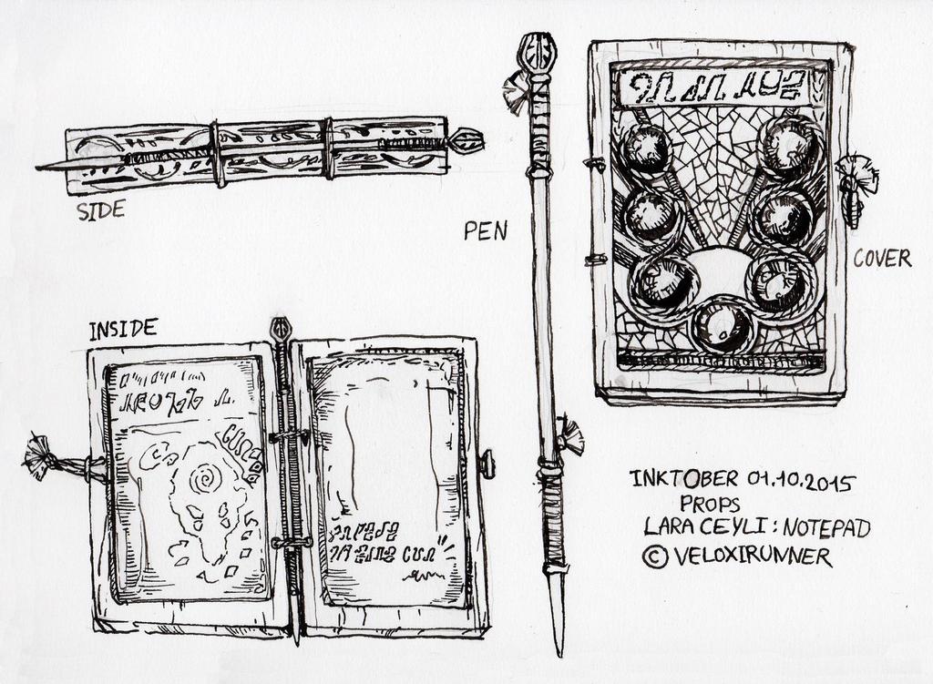 Lara's Notepad by Veloxirunner