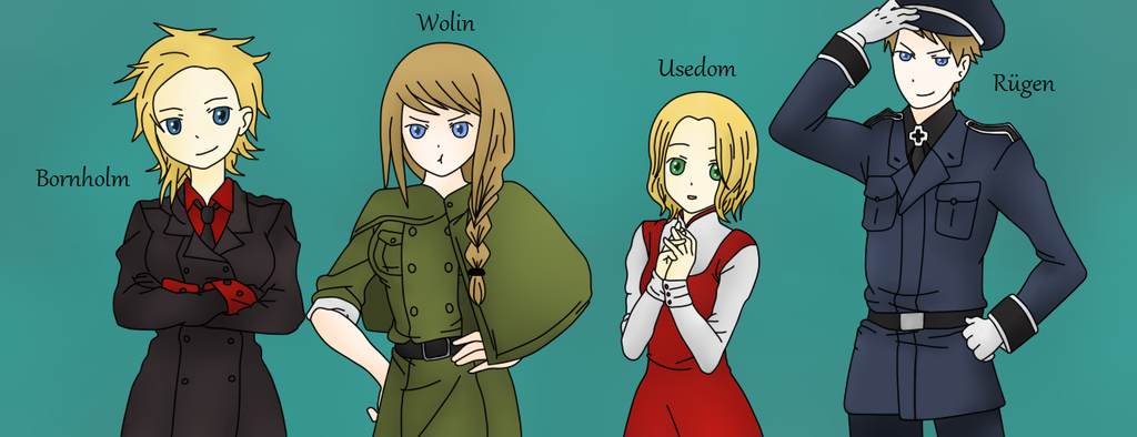 APH: Islands of Baltic by AwesomeTeme