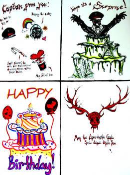 My Romantically Apocalyptic Birthday Card