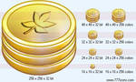 Coins Icon by money-icons