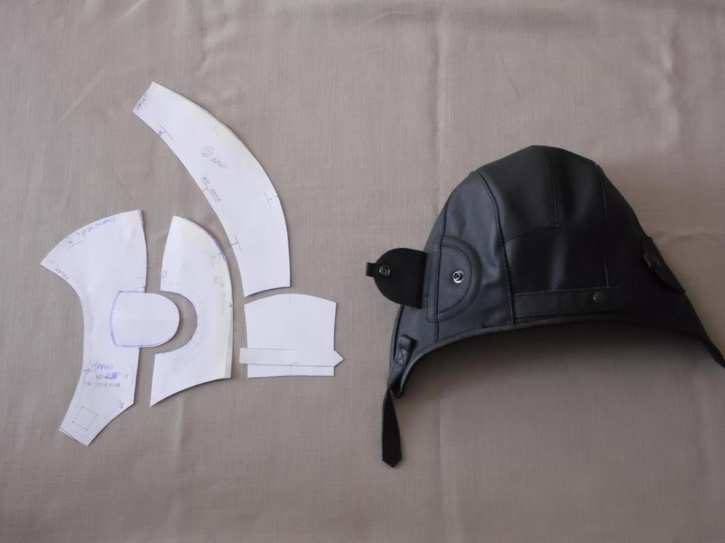 Выкройки шлема танкиста своими руками
