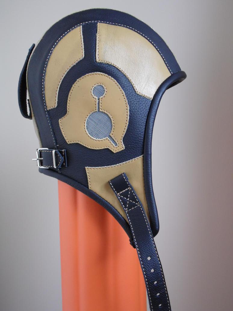 leather aviator,steampunk hat  xt-001 by vladrozgozo