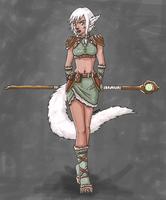 Shifter Druid by nekoninja7