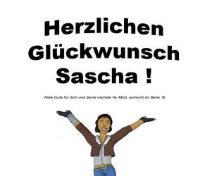 Happy Birthday Sascha