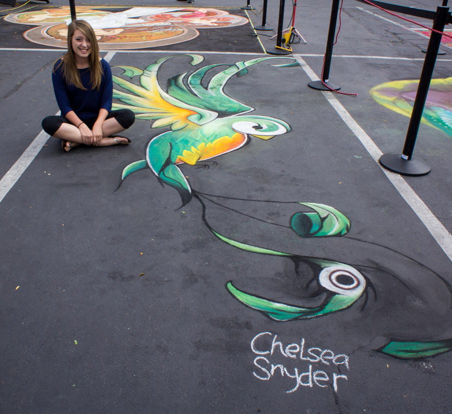 Quetzal Chalk 3 by chelsaroo