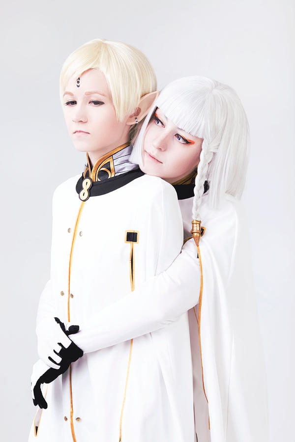 Last Exile_white duo by Odango-datte