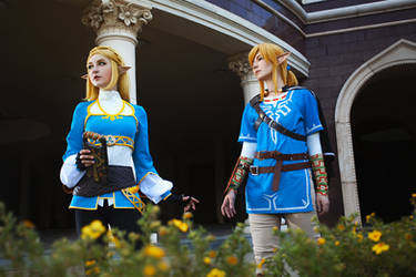 BOTW cosplay. So close by Odango-datte