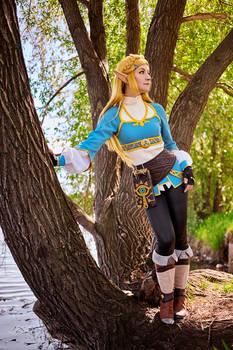 BOTW: Zelda's peaceful time