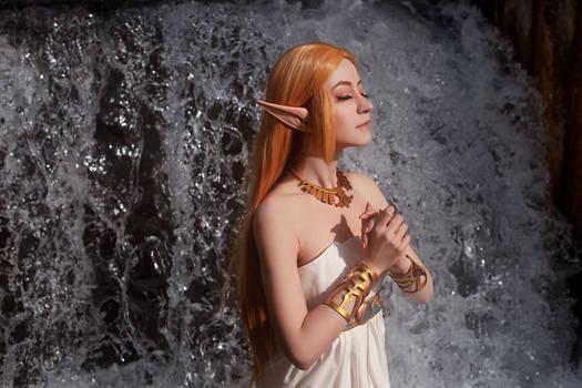 Princess Zelda: pray