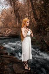 Princess Zelda: peaceful moment