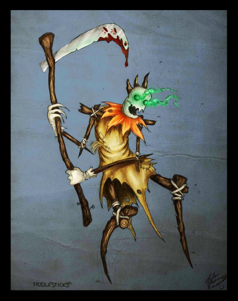 League of Legends Fiddlesticks by Fyrrea
