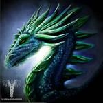 Night Dragon speedpaint