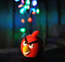 Angry Christmas Bird by ItSurroundsMe