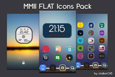 MMII FLAT Icon Pack