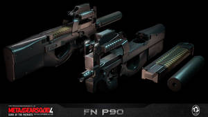 Porting: MGS 4 - FN P90