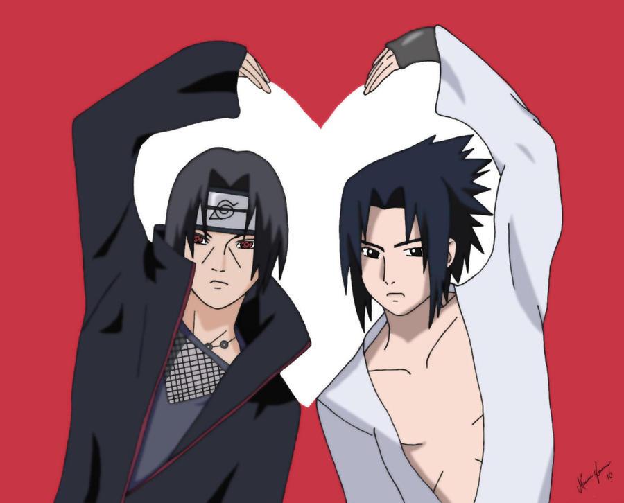 Sasuke and Itachi by MalleyMalos on DeviantArt
