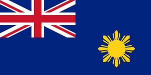 Flag of British Philippines