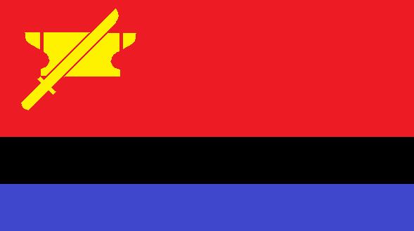 Flag of the Drakian Union of Afro-Asian W. R. by kyuzoaoi