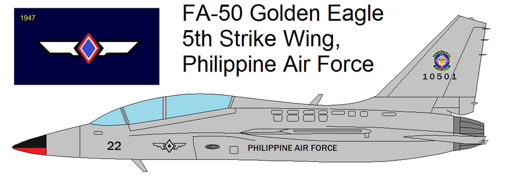 FA-50 Golden Eagle for the Philippine Air Force by kyuzoaoi