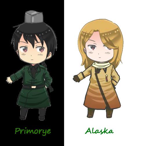 Hetalia Primorye and Alaska by kyuzoaoi