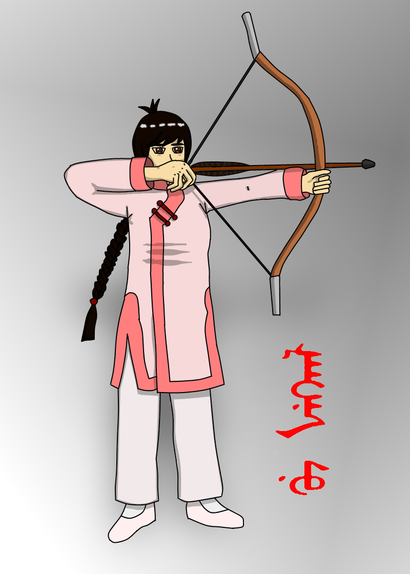 APH OC: Strong Arrow by kyuzoaoi