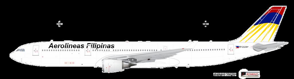 Aerolineas Filipinas by kyuzoaoi