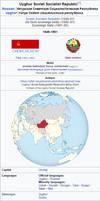 Uyghur Soviet Socialist Republic Infobox