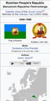 People's Republic Of Romilia by kyuzoaoi