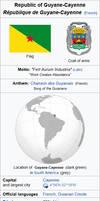 French Guiana Infobox