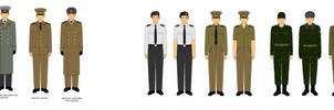 Manchurian Army Uniforms [NEW version]