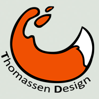 Thomassen Design Logo 2010 by rodrev