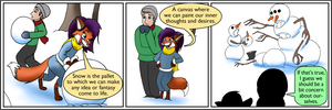Snowmen - Rick and Mistel