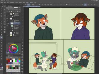 Progress shot wight folk page