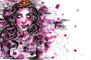 Persephone's roses