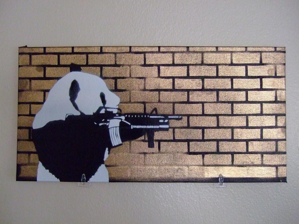 Angry Panda 2 by ScrapeScrapin