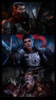 Warriors by Ymirr