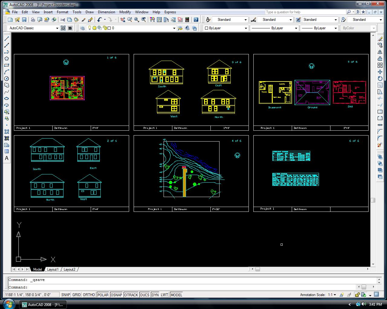 autocad 2008  with crack for windows 7