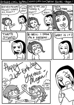 YU+ME Birthday Comic