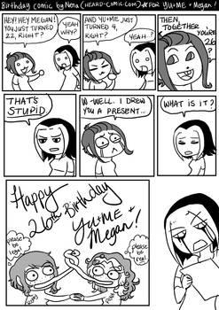 YU+ME Birthday Comic