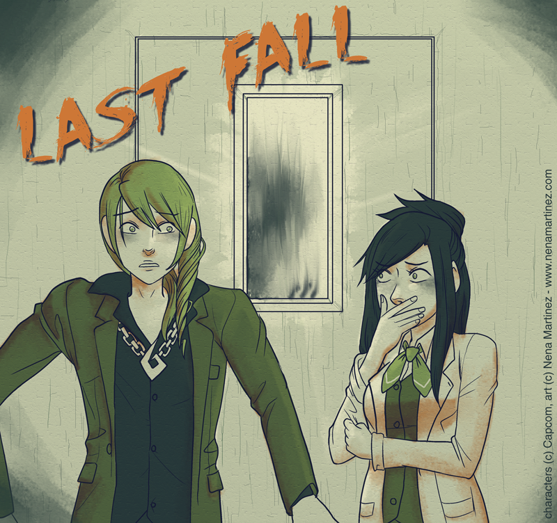 Ace Attorney: Last Fall by BlinkyTheRed