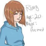 Romy profile.