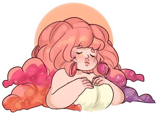 Cloud hair