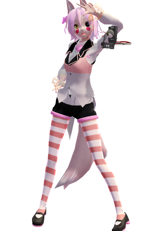 MMD Mangle by replica-luna