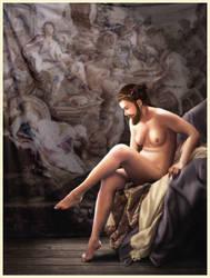 Bearded Lady by ostos-sabugal