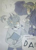 happy 17th DA,, by NekoCaptain